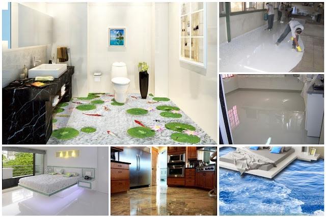 Amazing Liquid Porcelain Home Designs