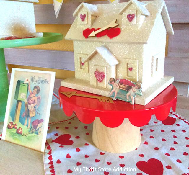 whimsical Valentine decor