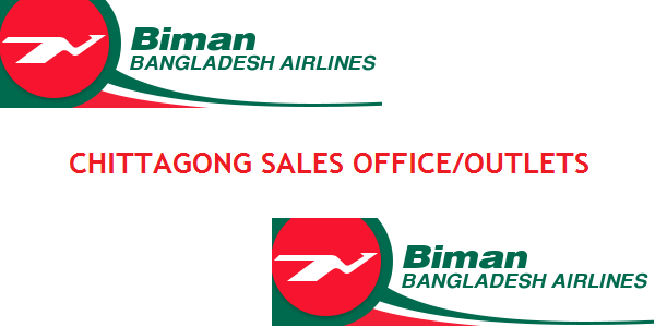 Chittagong Biman Bangladesh Airlines Sales Office/Outlets Contact