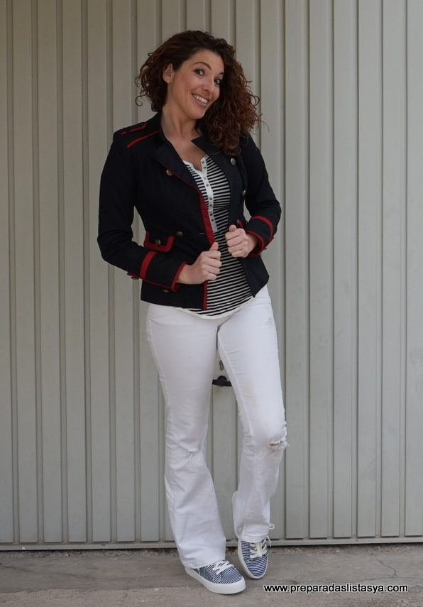 look Marinero blanco