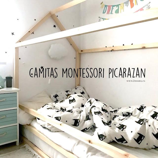 cama montessori casita picarazan itmum