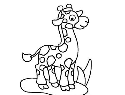 La Chachipedia: Jirafas para colorear, dibujos coloreados para ...