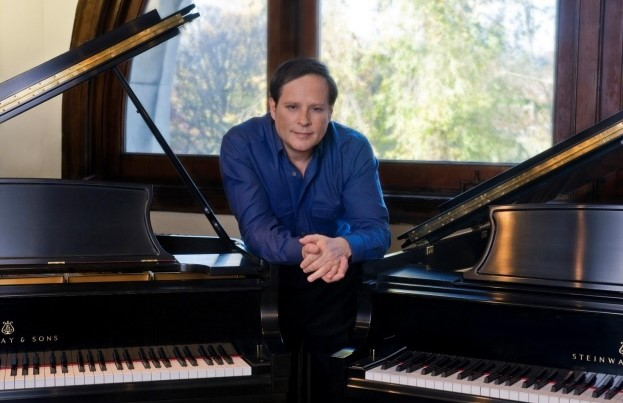 BEST ARTIST OF 2015: Pianist MICHAEL LEWIN [Photo by Lucy Cobos, © by Steinway & Sons]