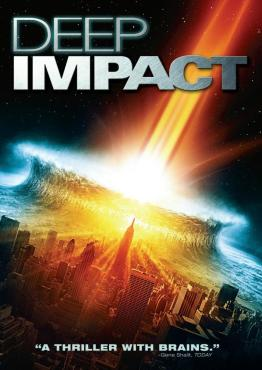 Poster Of Deep Impact (1998) In Hindi English Dual Audio 300MB Compressed Small Size Pc Movie Free Download Only At worldfree4u.com