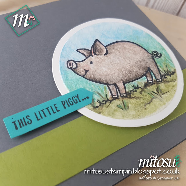 This Little Piggy Stampin Up SU Jay Soriano Mitosu Crafts Order Stampinup UK Online Shop 4