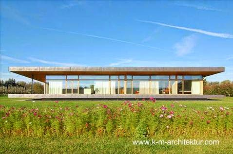 Casa de campo Minimalista en Alemania