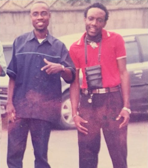 KCee shares epic throwback with his producer Zeeno Foster