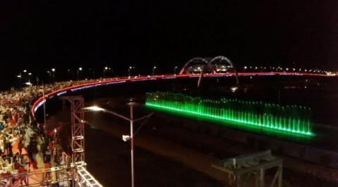 Memang Keren, Jembatan Suroboyo Masuk 10 Jembatan Terbaik di Dunia