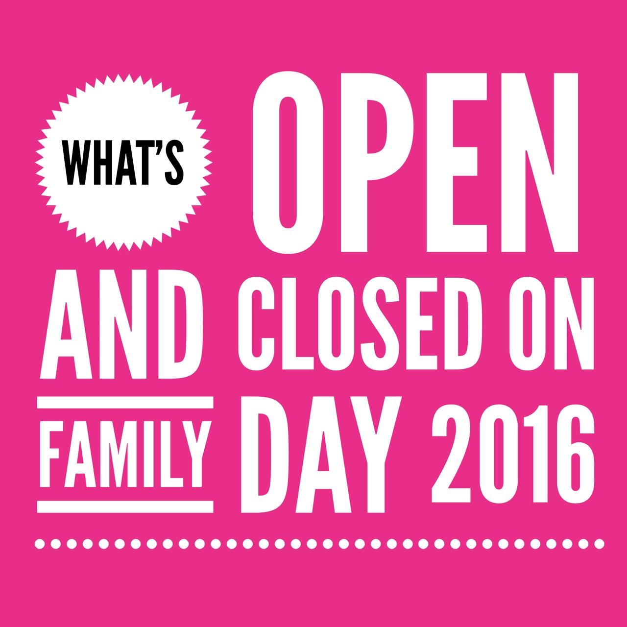 Restaurants Open Family Day Burlington