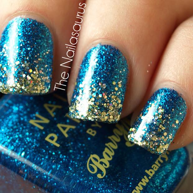 Day 17 Glitter - Nailasaurus Uk Nail Art