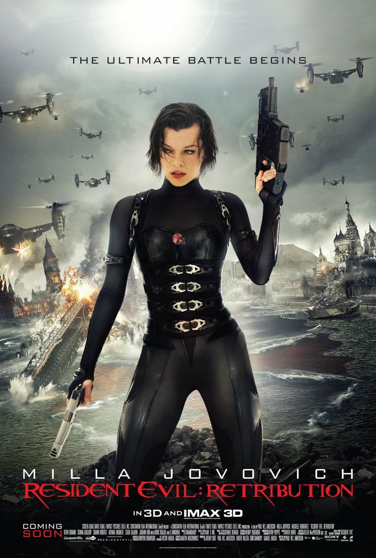 Nonton Film Resident Evil 5: Retribution (2012)
