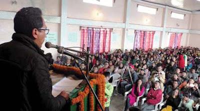 Gorkha National Liberation Front president Mann Ghisingh