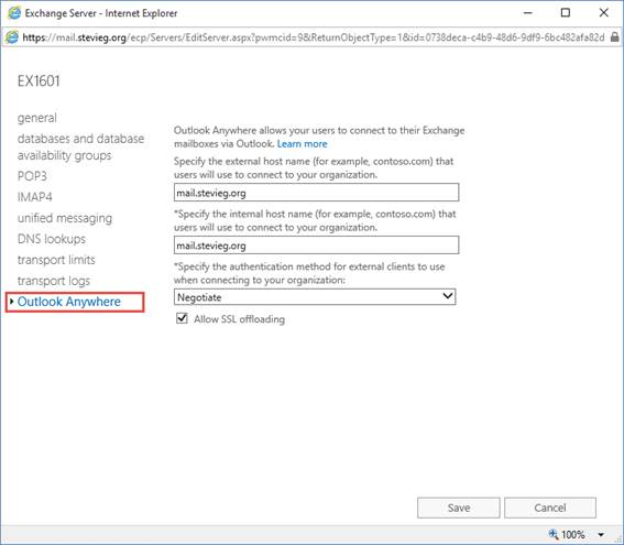 High Availability and Load Balancing Exchange Server 2016