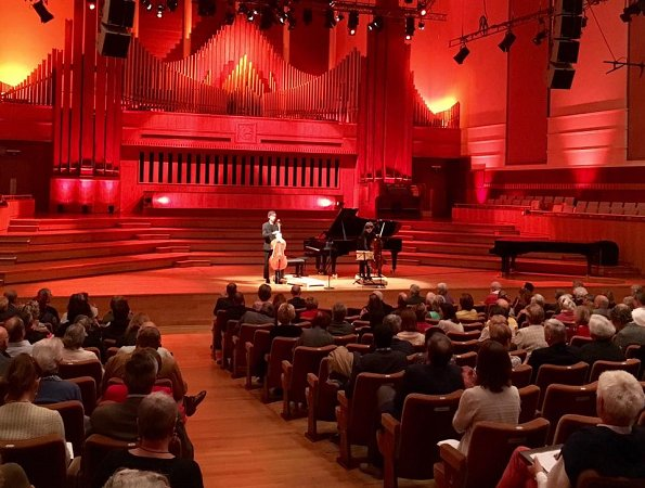 Queen Mathilde attended the first session of the Queen Elisabeth Cello competition at the Flagey cultural center in Brussels