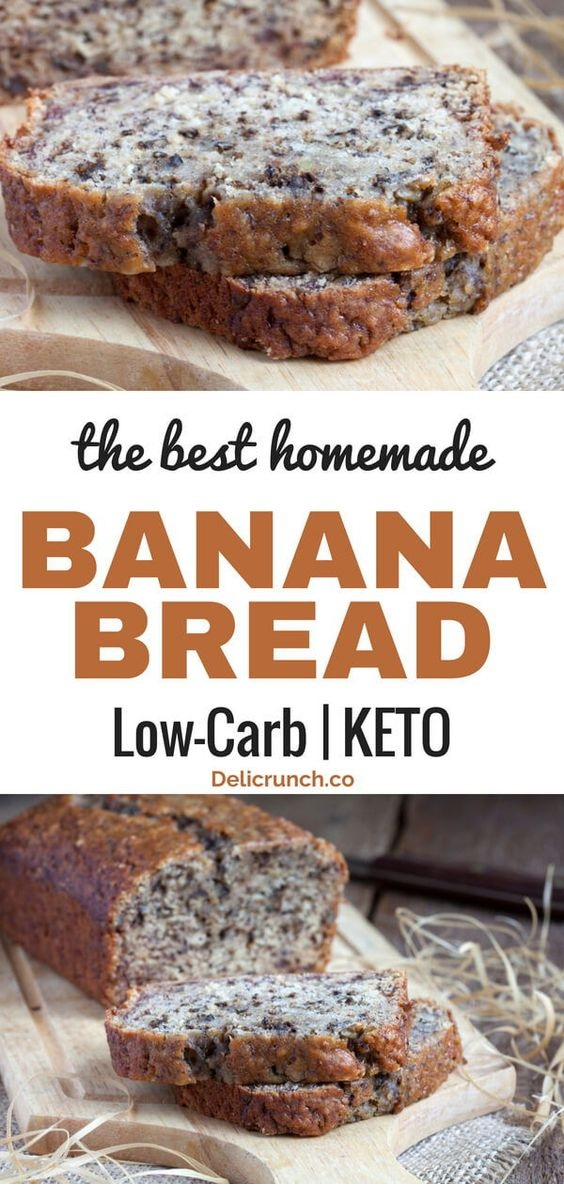 The Best Low Carb Banana Bread
