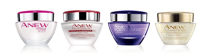 #Shop All Avon Anew Skincare Regimen