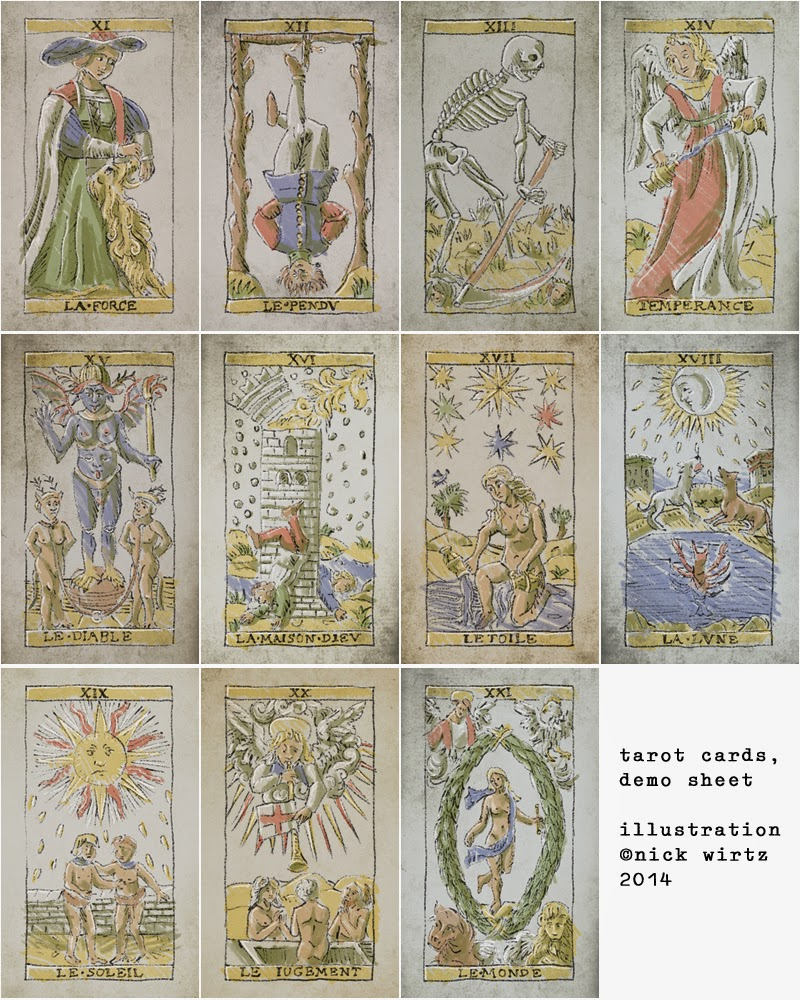 Reworking The French Tarot Game