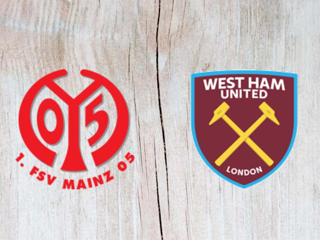 Watch Mainz 05 vs West Ham United - Highlights - 31 July 2018