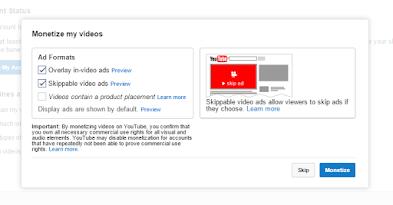 Cara Mudah Memasang Iklan Google Adsense di Youtube