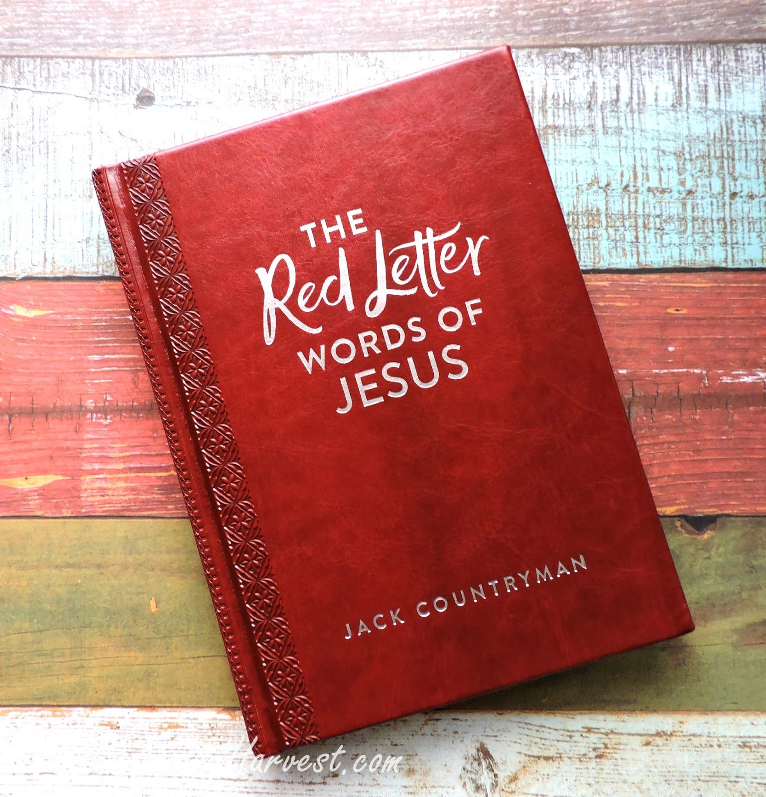 discovering christ through his teachings the red letter With red letter words of jesus