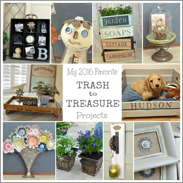 my favorite repurposed and upcycled trash to treasure projects of 2016