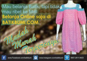 batik asli Indonesia