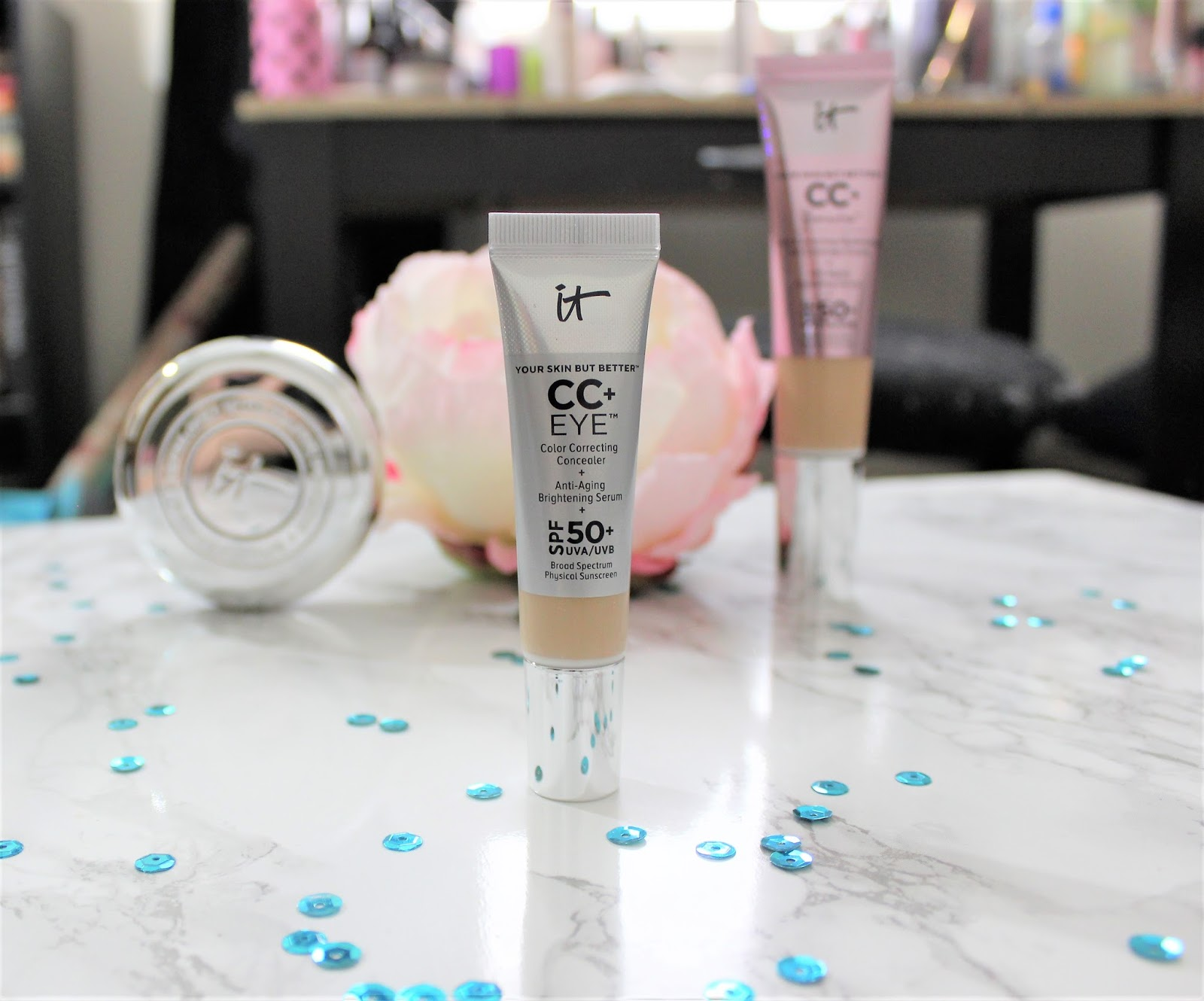 It Cosmetics CC+ Under Eye Concealer Review