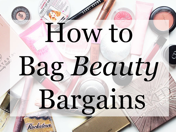 How to Bag Beauty Bargains