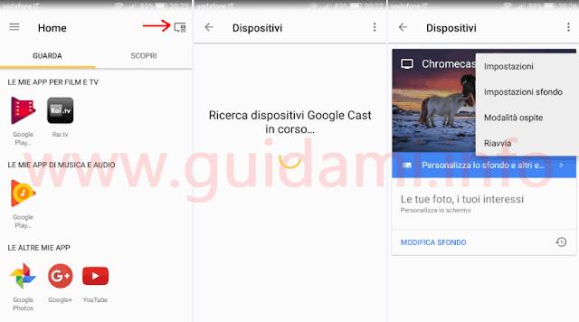 Applicazione Google Home per Android e iPhone