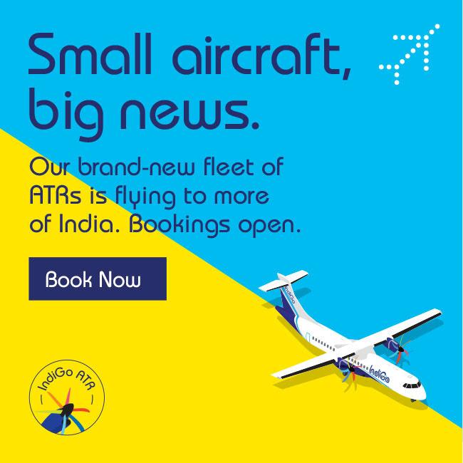 Indigo S New Atr Fleet Schedule And Fares The Airline Blog