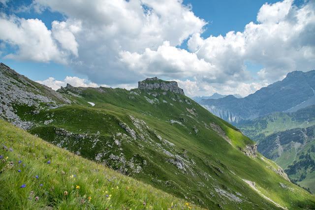 Fürstin-Gina-Weg  Augstenberg und Pfälzerhütte  Wandern in Liechtenstein 06
