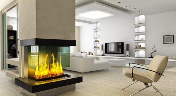 10 dise os de salas modernas y elegantes colores en casa for Disenos de salas modernas