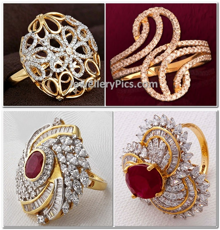 Dimond Rings Collection Kalyan Jewellers