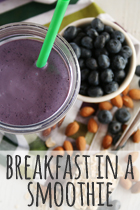 breakfast in a smoothie rezept