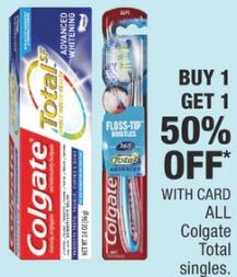 Colgate Total Toothpaste cvs deals