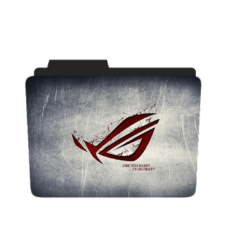 Asus Aggressive Brand Logo