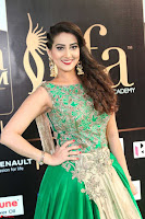 Manjusha in Beautiful Sleeveless Green Anarkali dress at IIFA Utsavam Awards 98.JPG