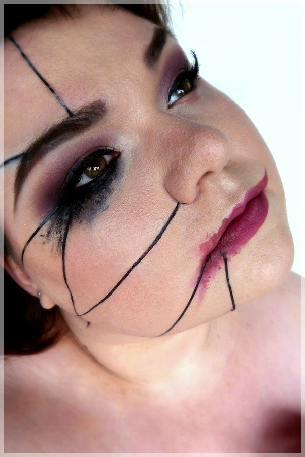 harry potter imperio makeup look