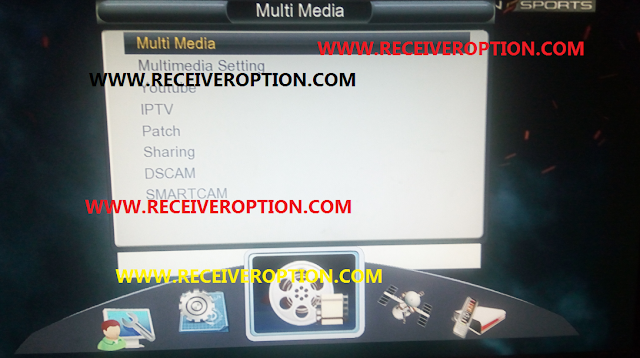 MULTI MEDIA 1506T ALL SATELLITE POWERVU KEY OK NEW SOFTWARE WITH GPRS OPTION