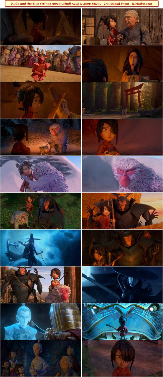 Kubo and the Two Strings Hindi Dual Audio Audio Full Movie Download