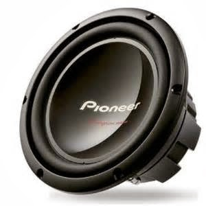Pioneer TS-W2502D4