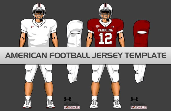 Download American Football Jersey Template PSD | blank t-shirts ...