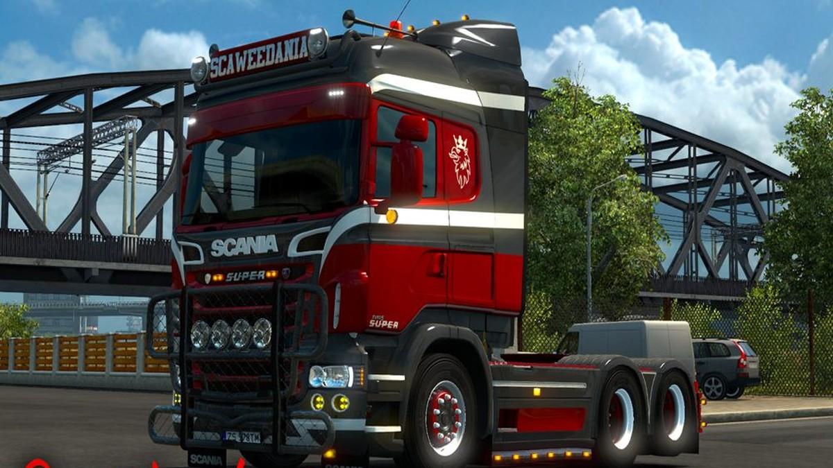 Scania RJL JSV BV Skin
