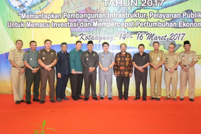 Pemprov Musrenbang Ke Kabupaten Tanggamus.