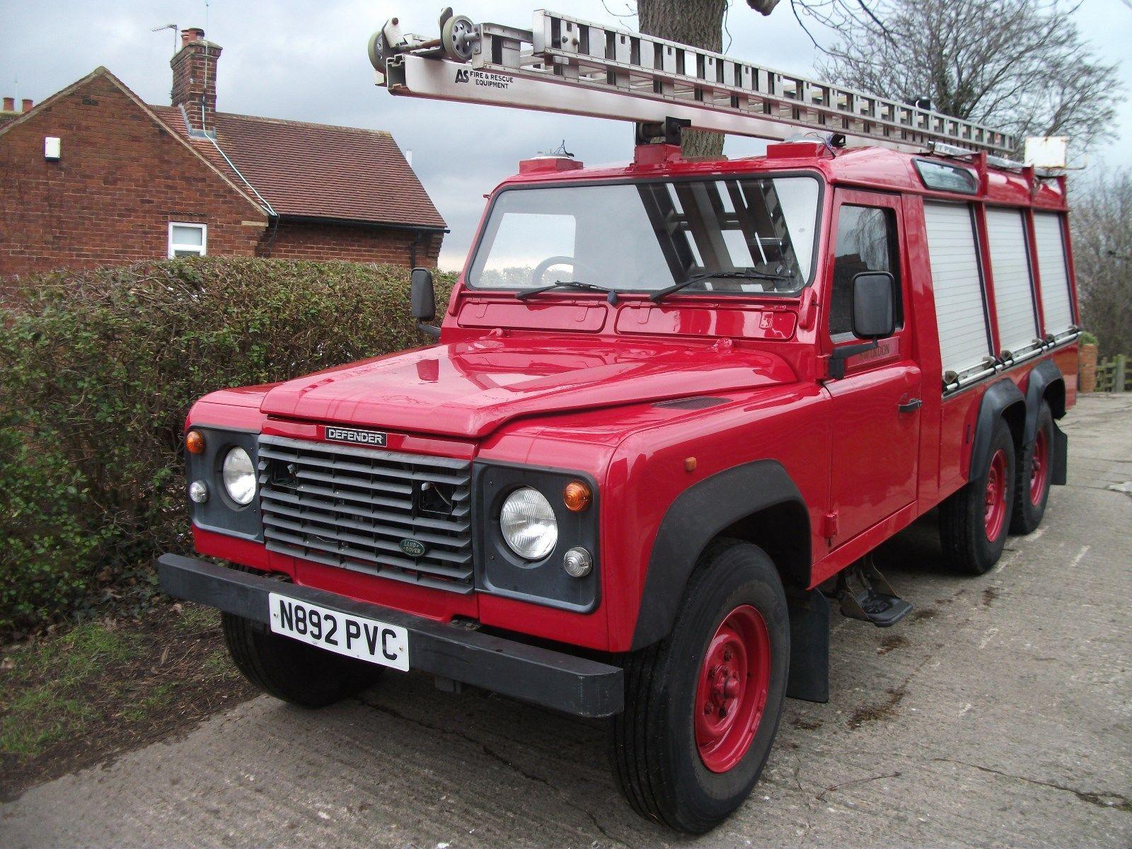 Landrover Defender Land Rover Defender 6x6 Fire Engine Fire Tender