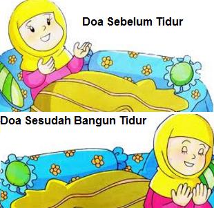 Doa Harian: Doa Sebelum Tidur & Doa Setelah Bangun Tidur