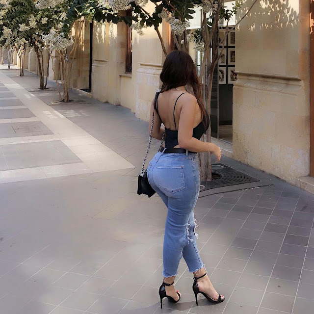 سونا غسان تستعرض مؤخرتها الكبيرة وتشعل انستقرام