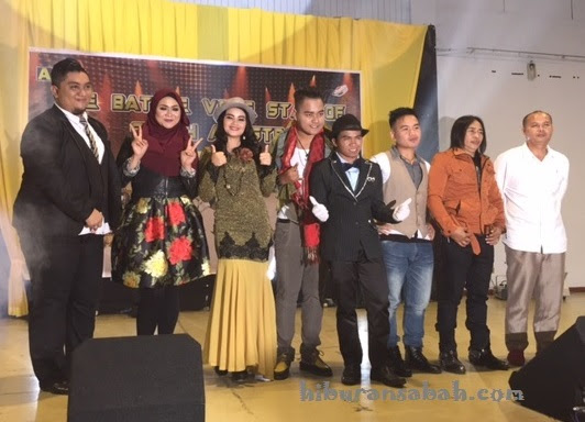 Finalist The Battle Voice of Sabah Artistes 2017