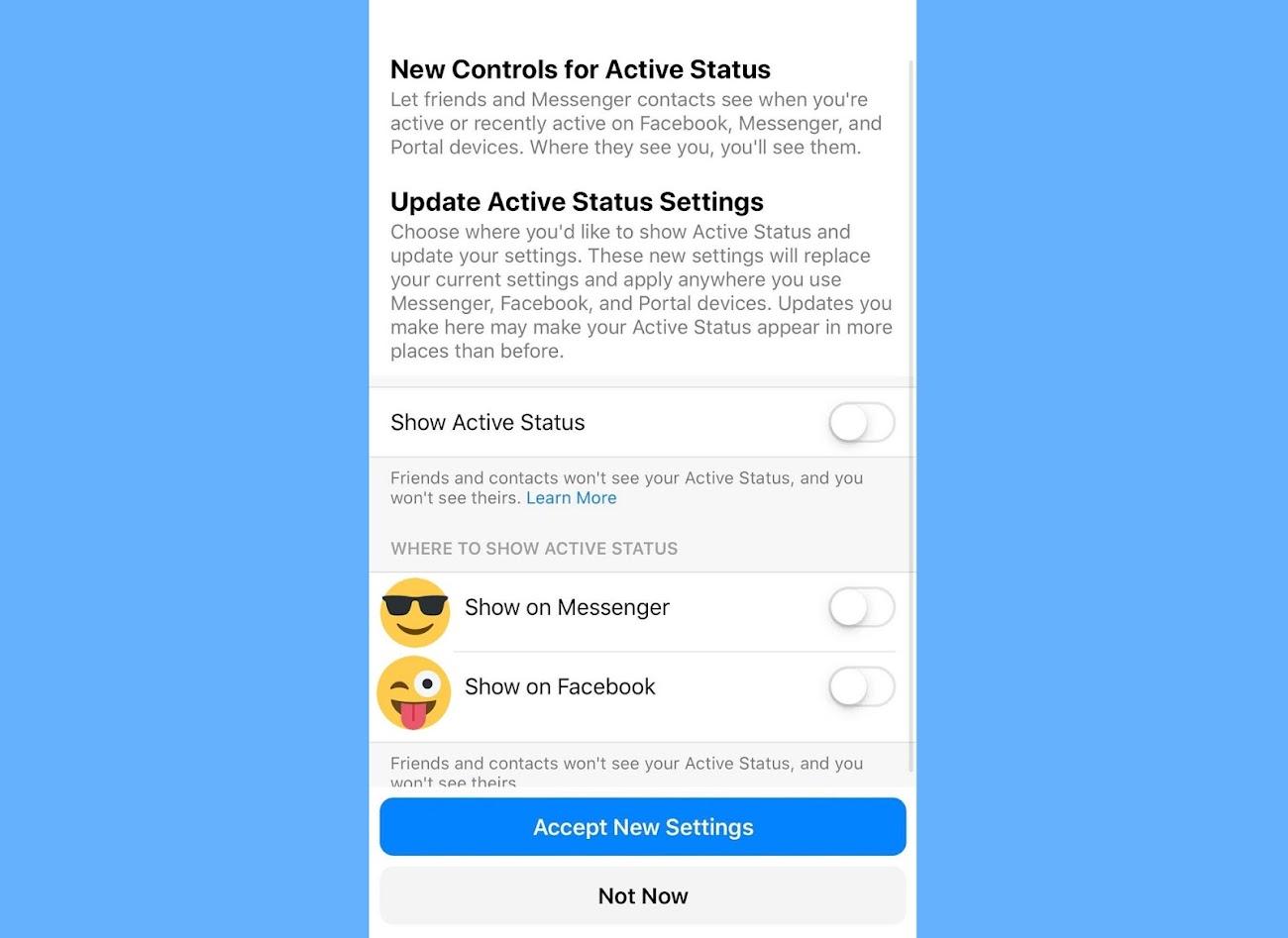 Facebook Messenger Online Status Falsch