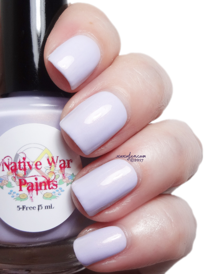 xoxoJen's swatch of Native War Paints Moneypenny